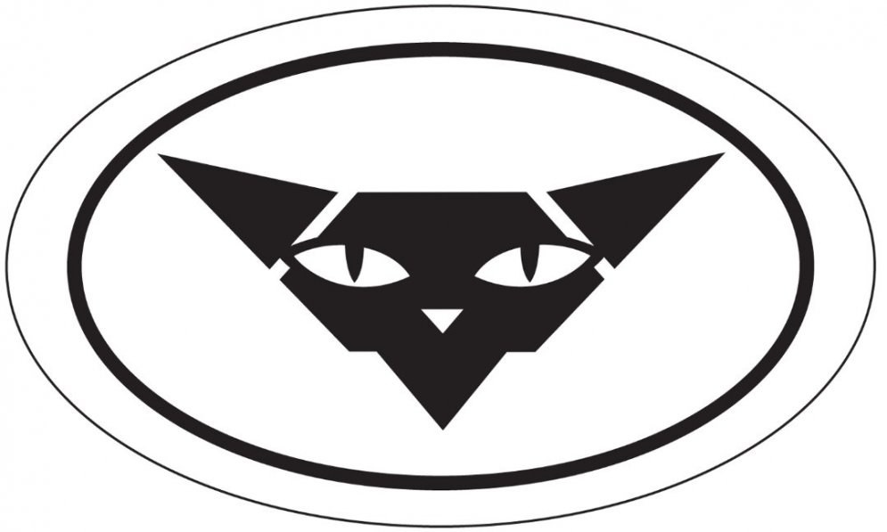 sphynx oval sticker