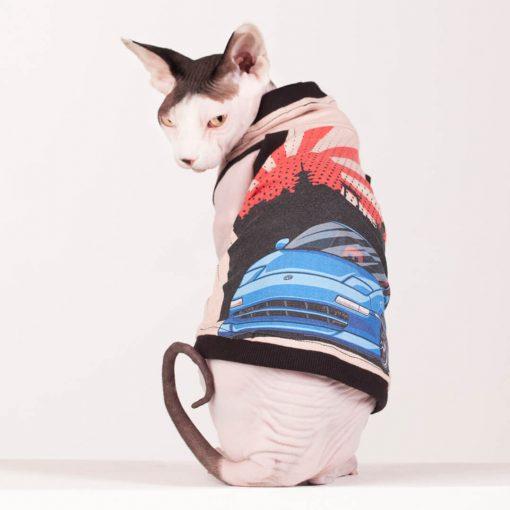 sphynx-cat-clothes-Japanese-Sports-Car-4126-sphynx-cat-wear