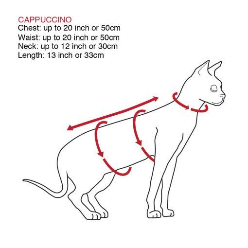 sphynx-cat-clothes-Cappuccino-sphynx-cat-wear-SizeChart