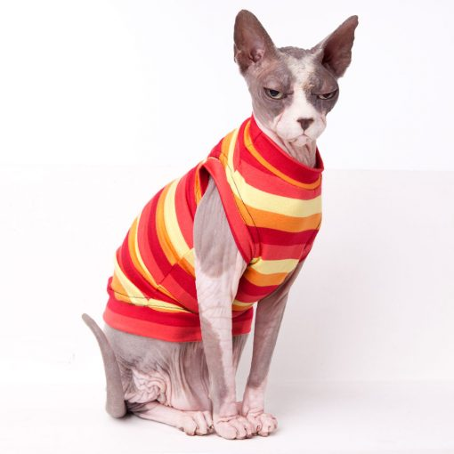 sphynx-cat-clothes-Cherry-Pop-Crew-Neck-sphynx-cat-wear